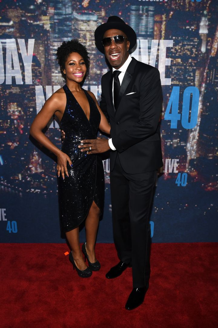 J.B. Smoove and his wife