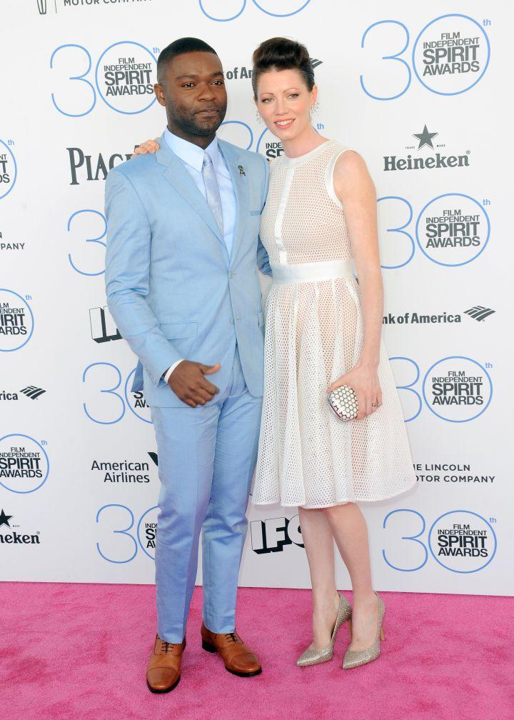 David Oyelowo and his wife