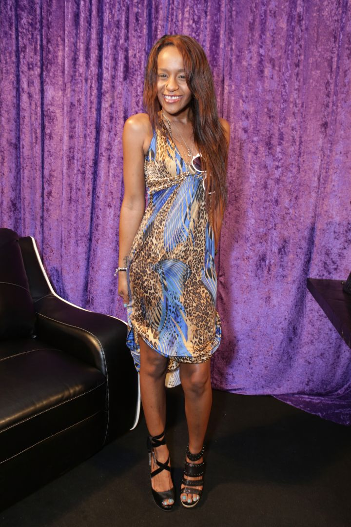 Bobbi Kristina Brown attends the GRAMMY Gift Lounge during the 56th Grammy Awards at Staples Center.