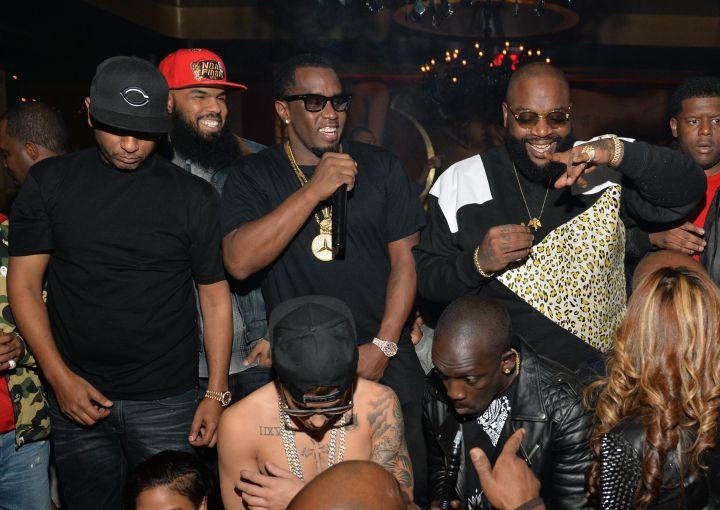 Diddy with Dem Boyz.
