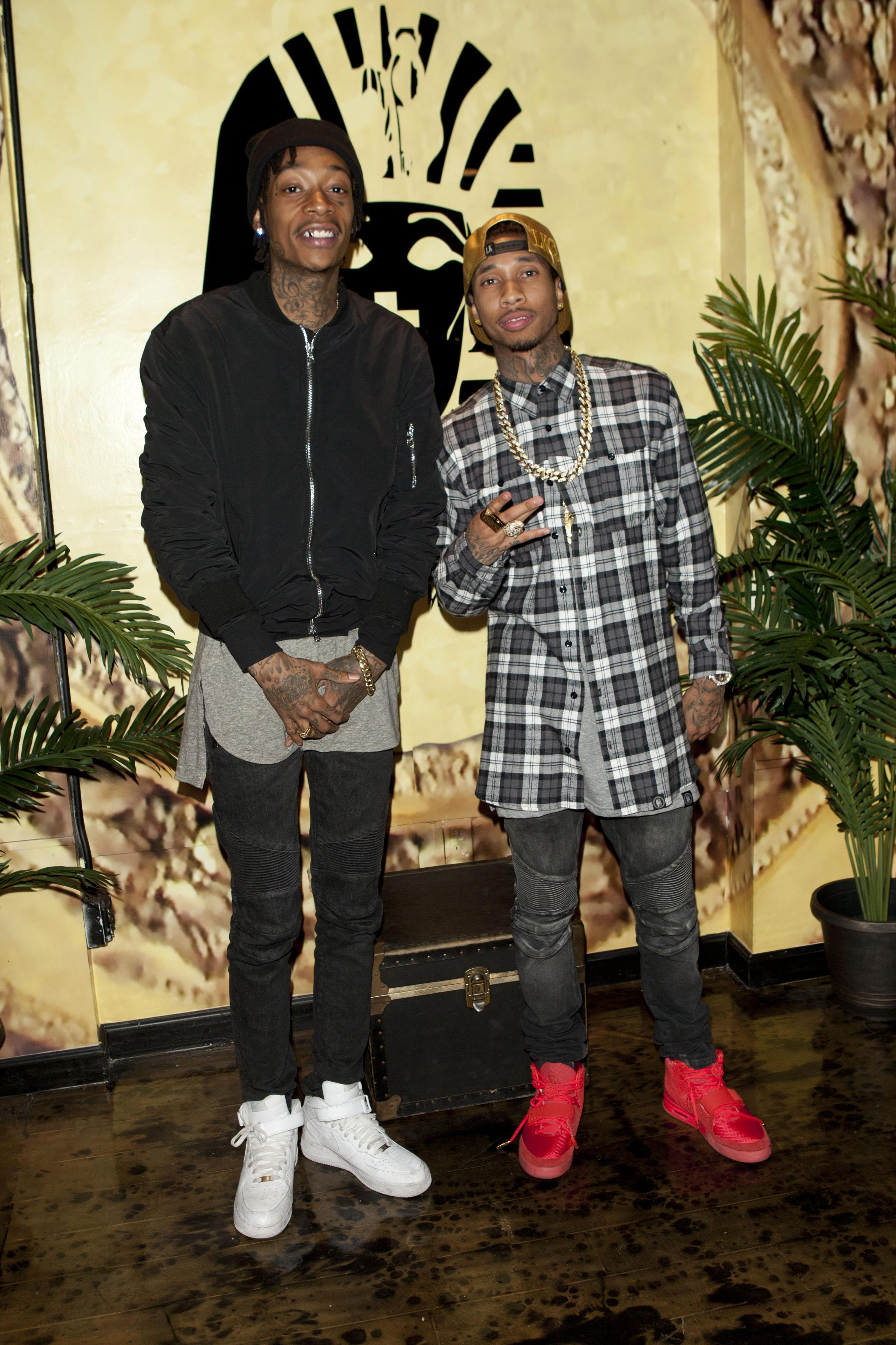 Exclusive Press Preview Of Tyga's Last Kings Flagship Store On Melrose Ave.