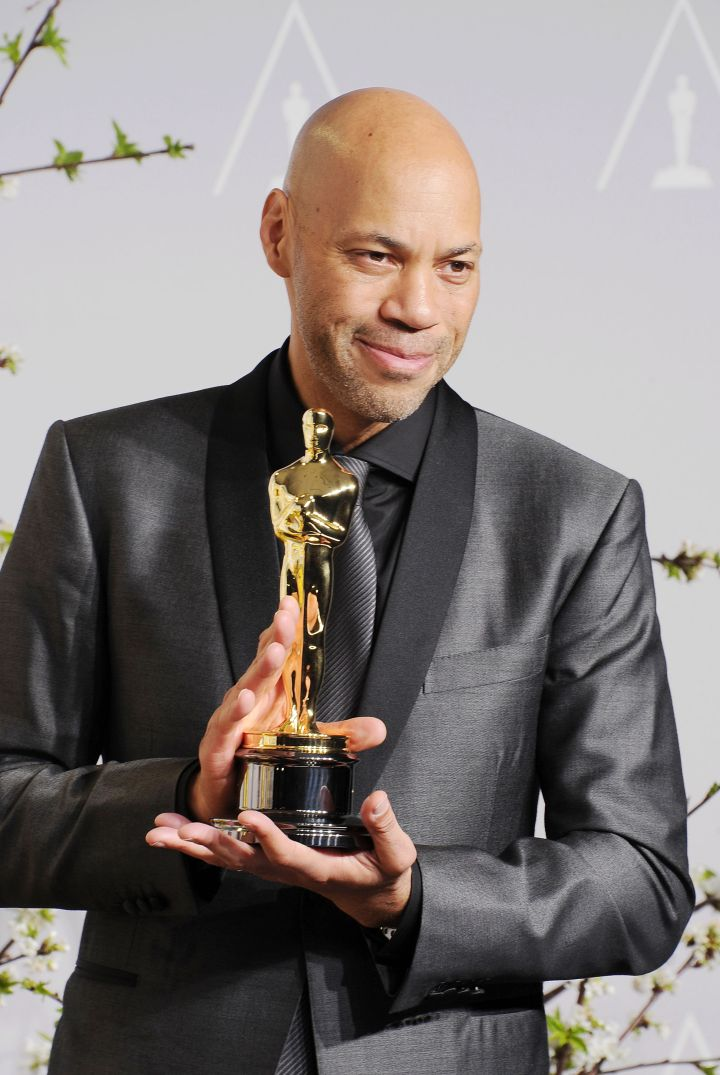 "John Ridley won Best Adapted Screenplay for his take on ""12 Years A Slave."""