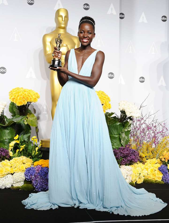 "Lupita Nyong'o was a fan favorite when she won Best Supporting Actress for her role as Patsey in ""12 Years A Slave."""