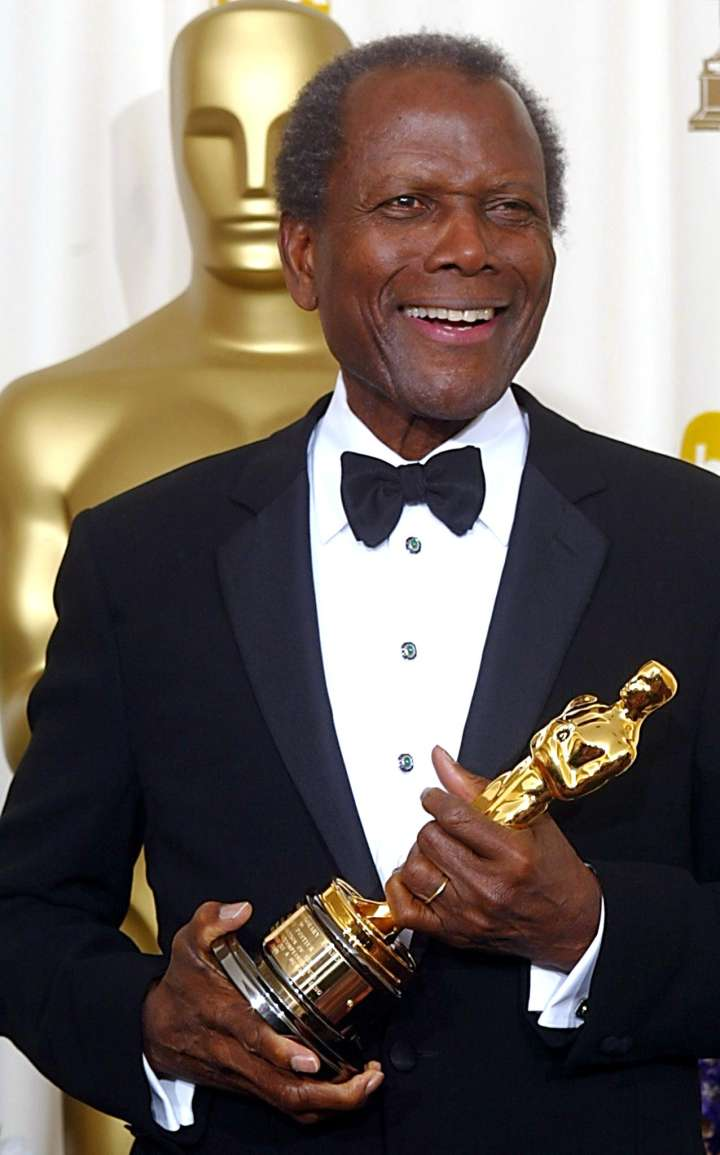 Sidney Poitier was the first African-American male actor to take the statue home.