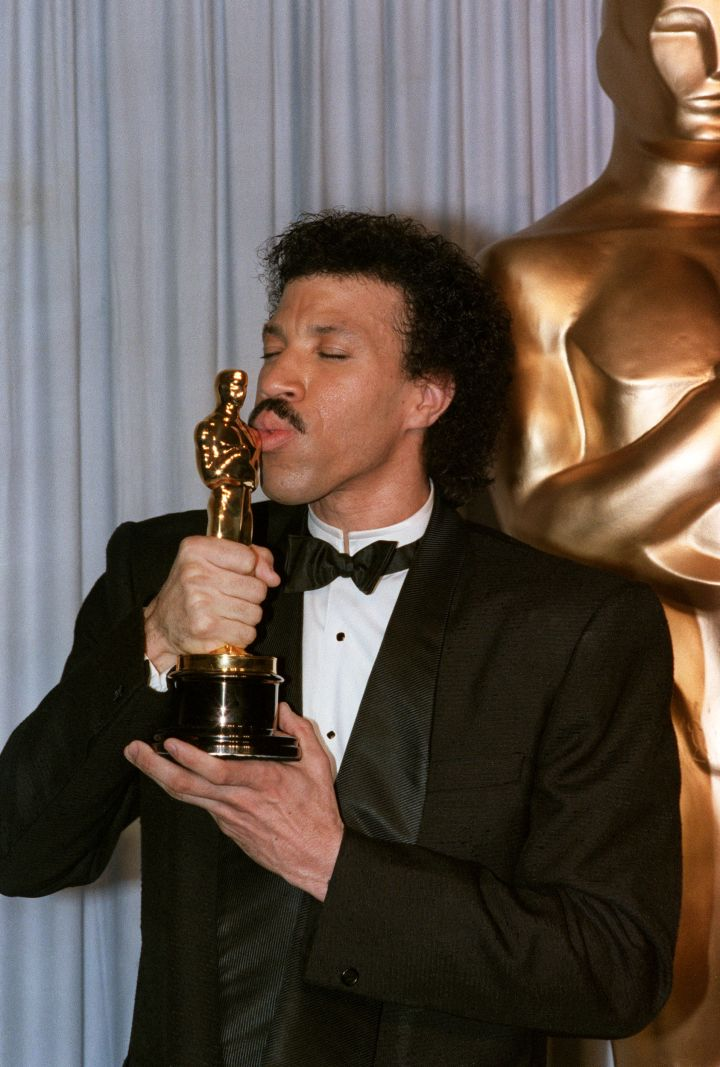 "Lionel Richie won Best Original Song for ""Say You, Say Me."""