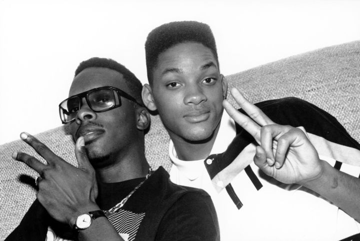 Vintage Jazzy Jeff and Will Smith