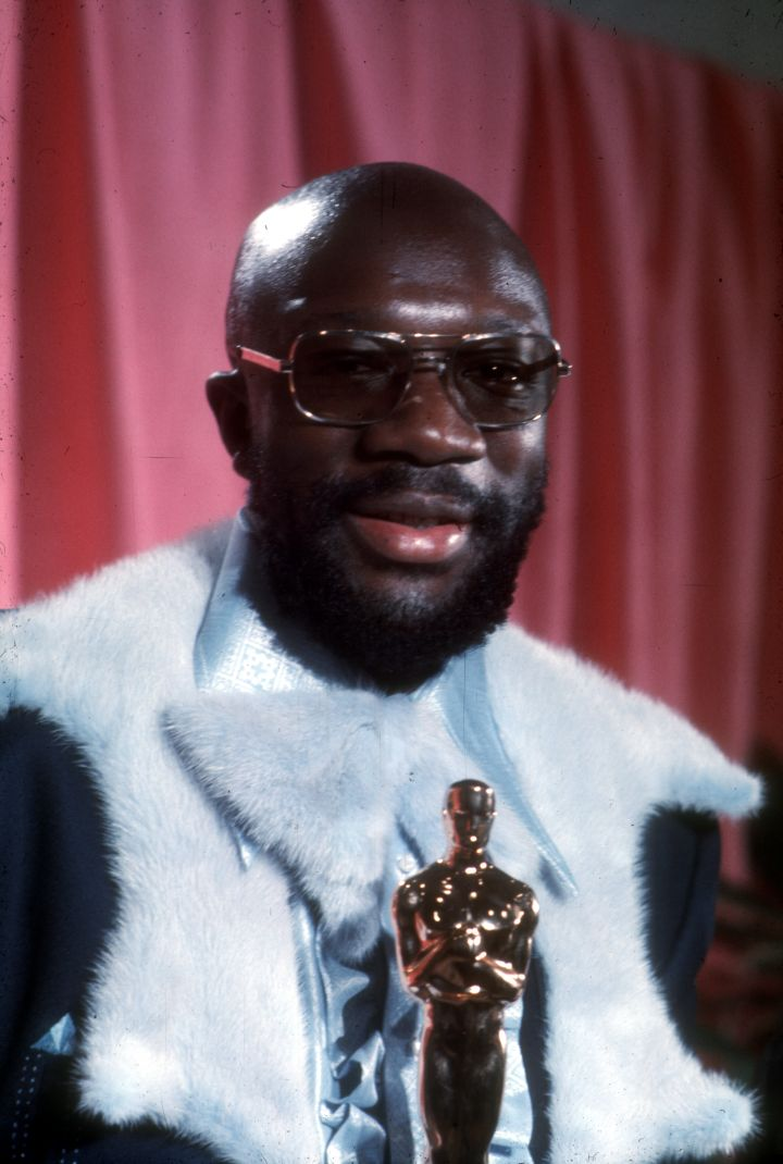 Isaac Hayes was the first African-American to win for Best Original Song.