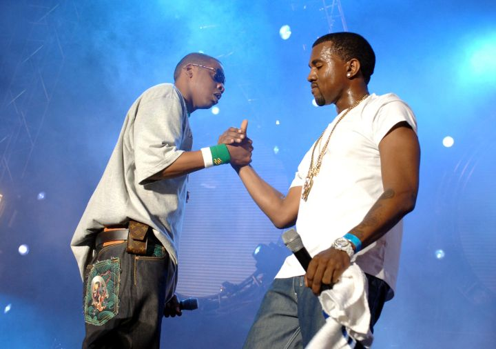 """Kanye and Jay Z performed """"N*ggas In Paris"""" 12 times in a row on one night in Paris."""