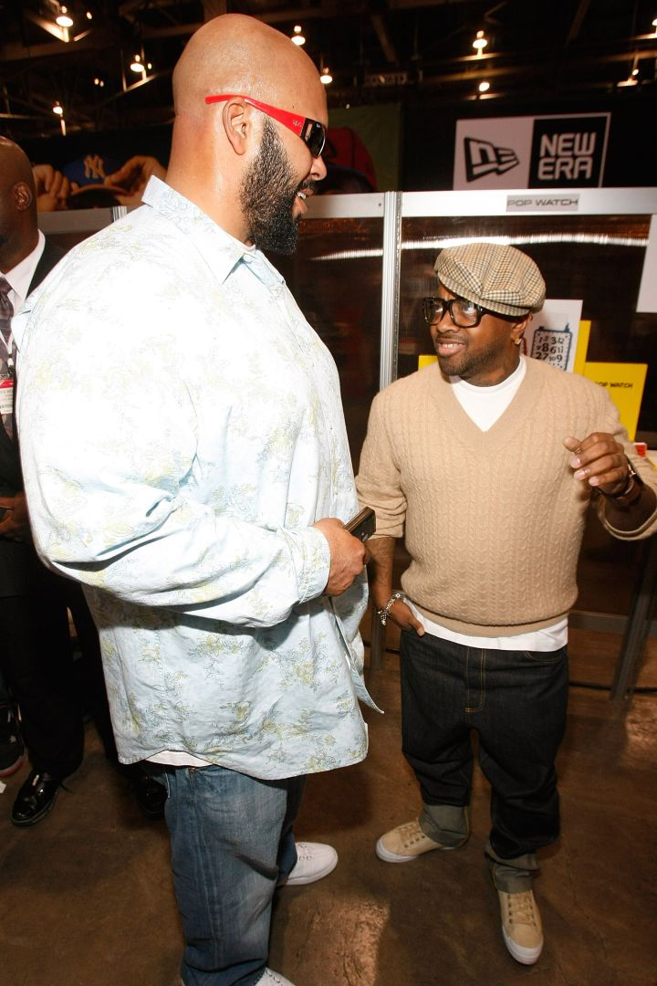 The time he towered over Jermaine Dupri.