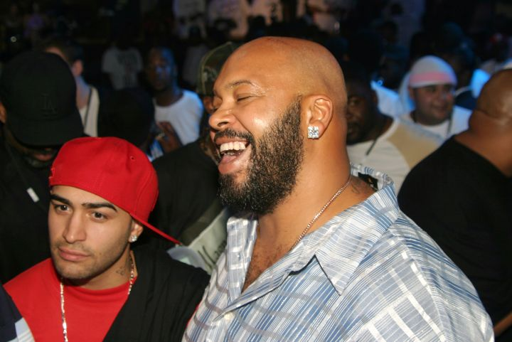 Suge has a laugh while participating in a little turn up.