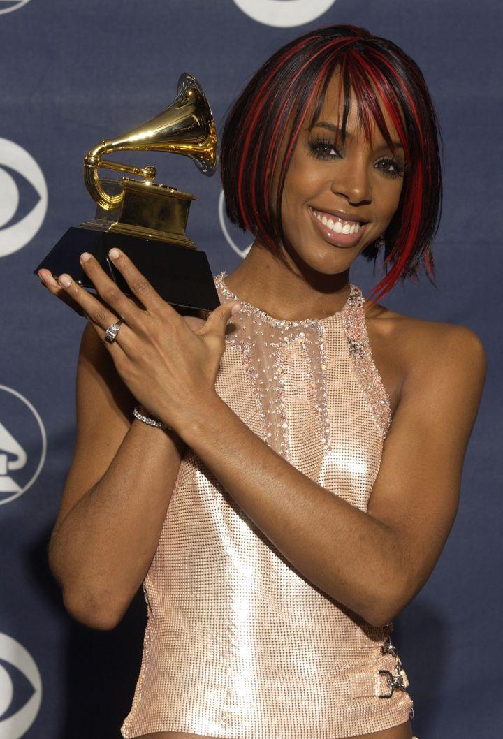 Grammy award-winning beauty.