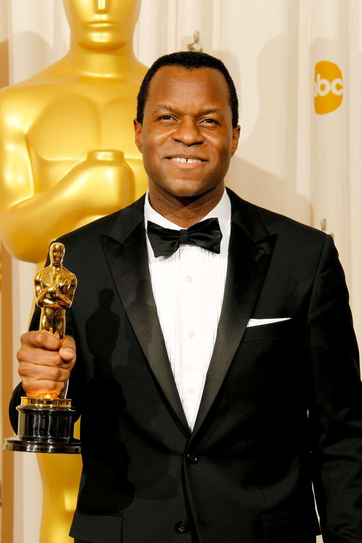 "Geoffrey Fletcher is the first African-American to win for Best Adapted Screenplay for ""Precious."""