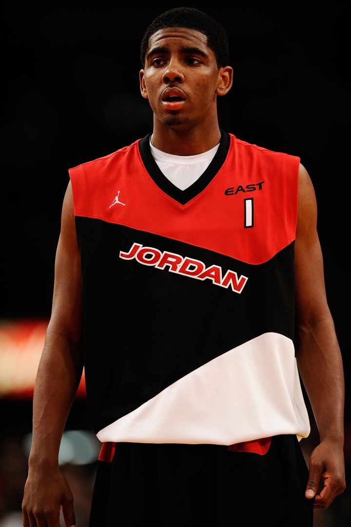 Kyrie Irving during the 2010 Jordan Brand classic.