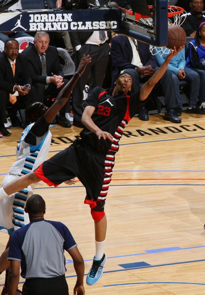 Anthony Davis in the 2011 Jordan Brand All-American Classic.