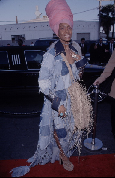 She also did denim on denim before it was cool.