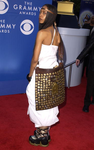 The bag lady.