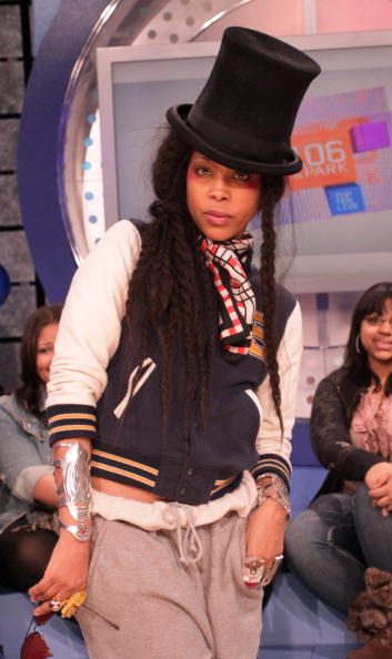 Making sweats look cool on 106 & Park.