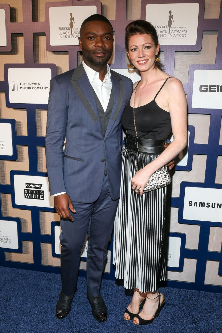 David Oyelowo brought his beautiful wife along.