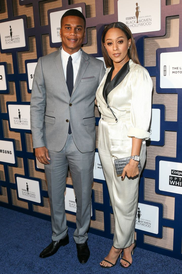 Tia Mowry and hubby Cory Hardict also made it a date night.