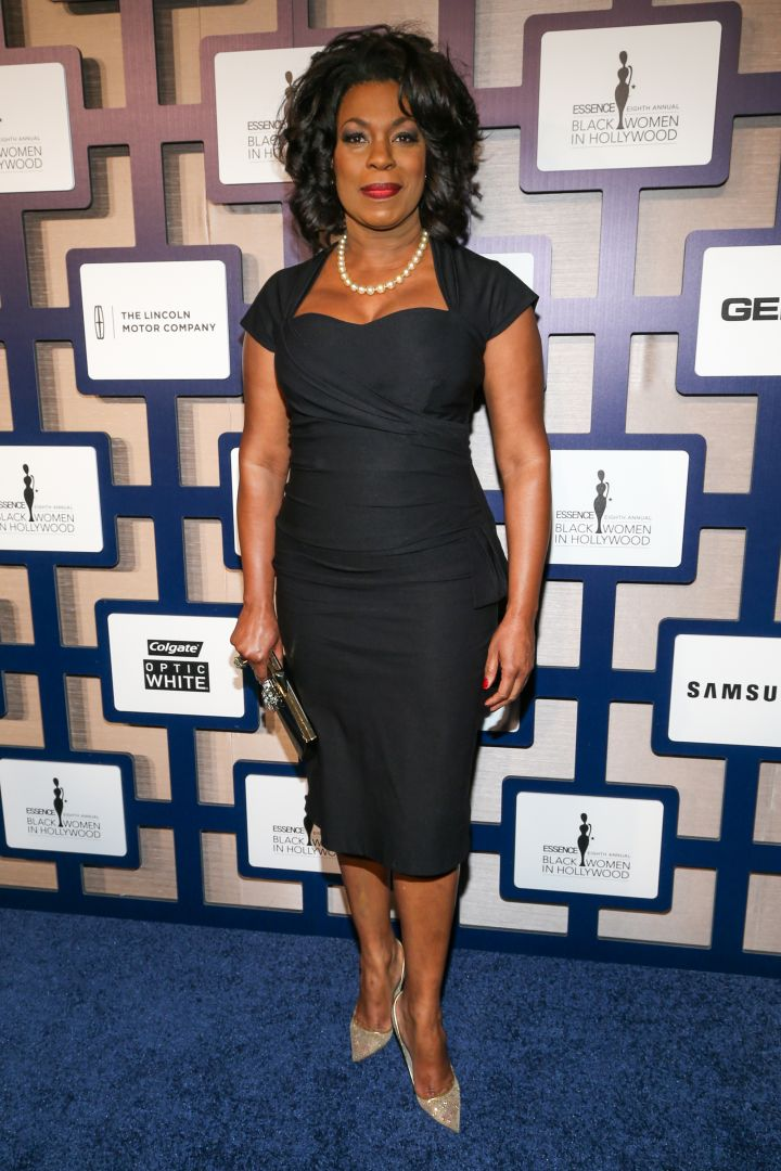Lorraine Toussaint went the polar opposite and opted for black.