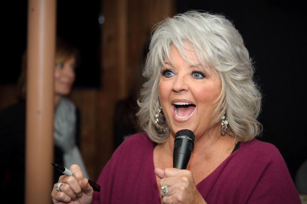 Paula Deen Signs Copies Of 'Paula's Southern Cooking Bible'