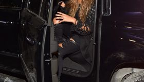 Beyonce attends the Roc city classic: Flatiron District