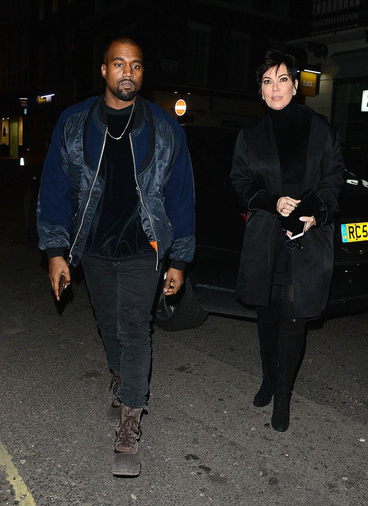 When Kanye first started dating Kim, he attempted to win Kris Jenner over by buying her a $200K Bentley with a Swarovski Crystal gear shift.