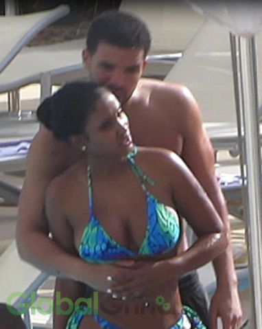 Drake And Bernice Burgos In Perth