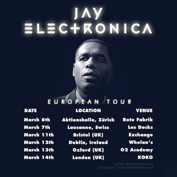 Jay Electronica Tour