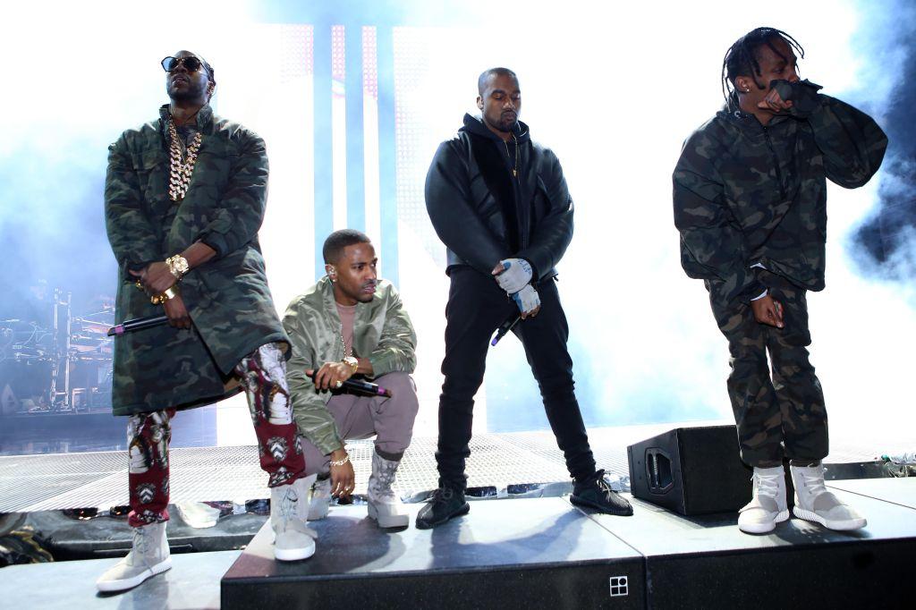 Kanye West Roc City Concert