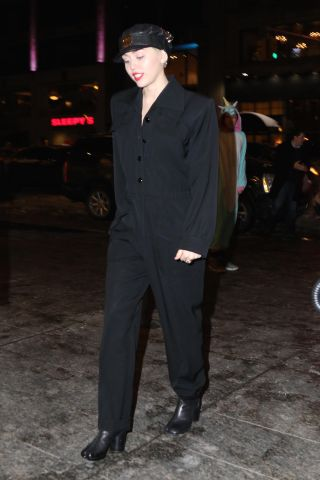 Miley Cyrus was spotted at Nobu this evening after attending an event at Carnegie Hall in NYC