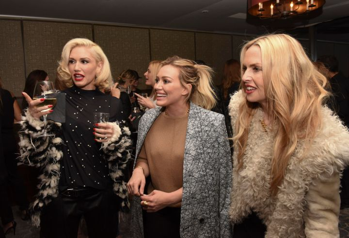 Gwen Stefani, Hilary Duff, and Rachel Zoe had a very stylish mommy's night out at the Established Jewelry by Nikki Erwin Launch Party in CA.