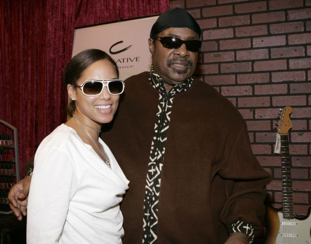 Alicia Key & Stevie Wonder