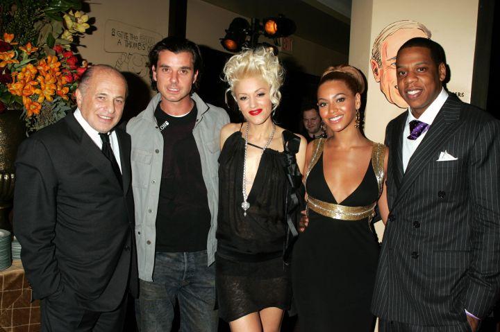 Gavin Rossdale, Gwen Stefani, Beyonce, & Jay Z