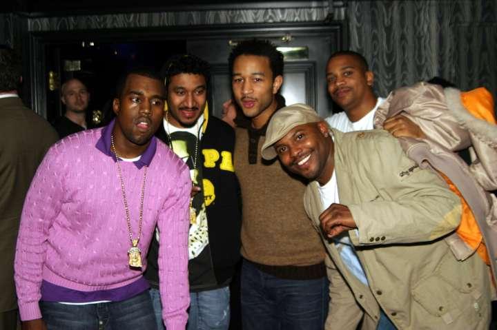 Kanye, Don C, John Legend