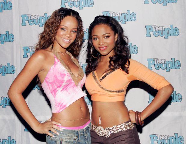 Rihanna & Teiarra Mari