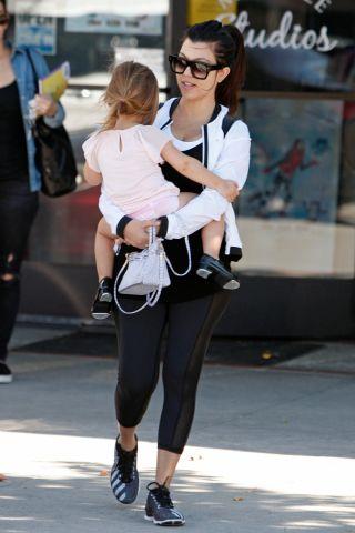 Kourtney Kardashian takes daughter Penelope Disick to ballet classes in L.A.