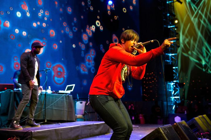 "Rapsody's been signed to 9th Wonder's It's A Wonderful World Music Group since 2008. She's also worked with hip-hop greats like Pete Rock, Erykah Badu, Big Daddy Kane, Raekwon, and Phonte. More recently, she's collaborated with multiple artists off TDE: Mac Miller, Raheem DeVaughn, BJ The Chicago Kid, Childish Gambino, and The Cool Kids, some of whom were featured on her 2012 debut album ""The Idea Of Beautiful."""
