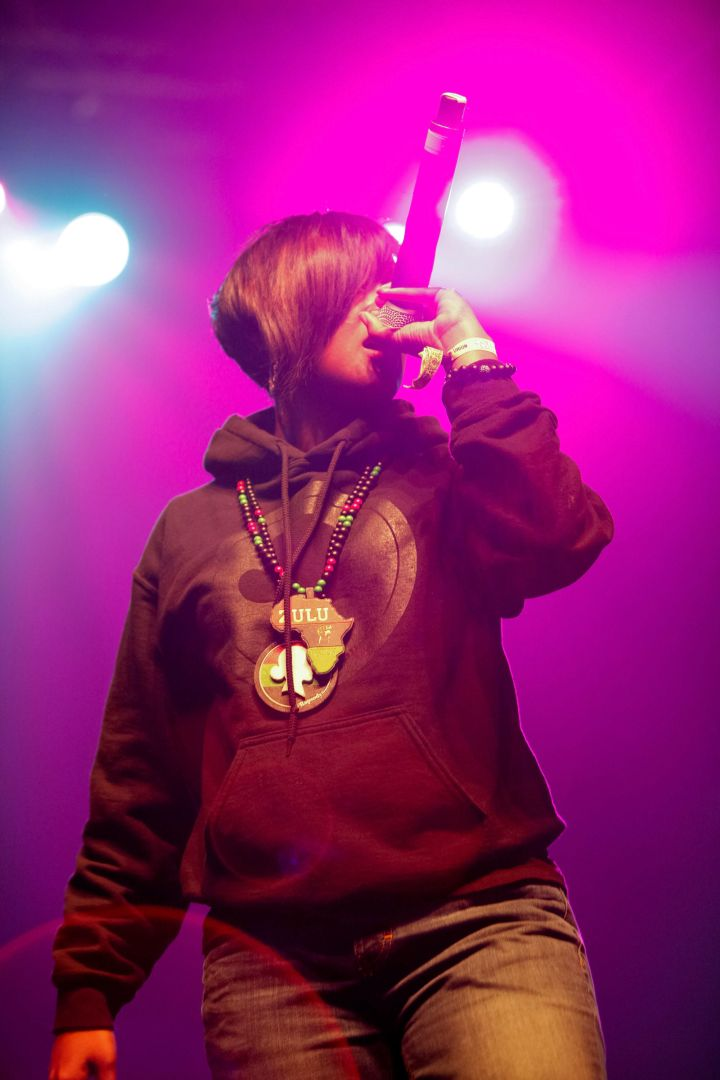While attending North Carolina State University, Rapsody started a hip-hop organization called h20: The Hip-Hop Organization and was a member of the group Kooley High before going solo. After college, she also juggled a part-time job at the local Footlocker while pursuing a career in music.