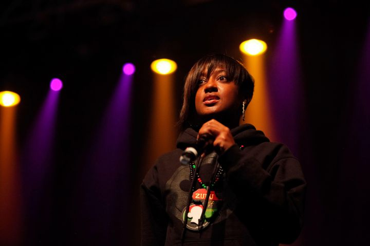 Hailing from Snow Hill, North Carolina, Rapsody was not only Homecoming and Prom Queen in high school, but she was also her high school class president.
