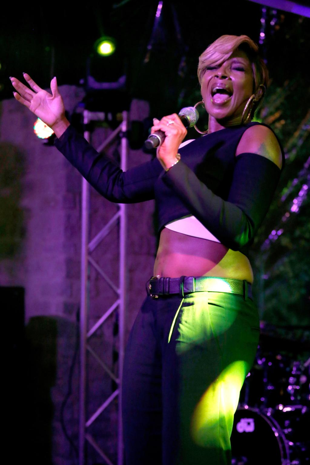 Mary J. Blige performs at SXSW