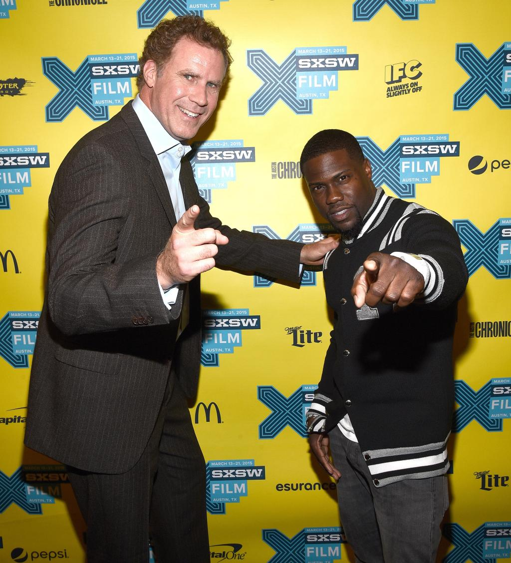 Will Ferrell and Kevin Hart promote 'Get Hard' at SXSW