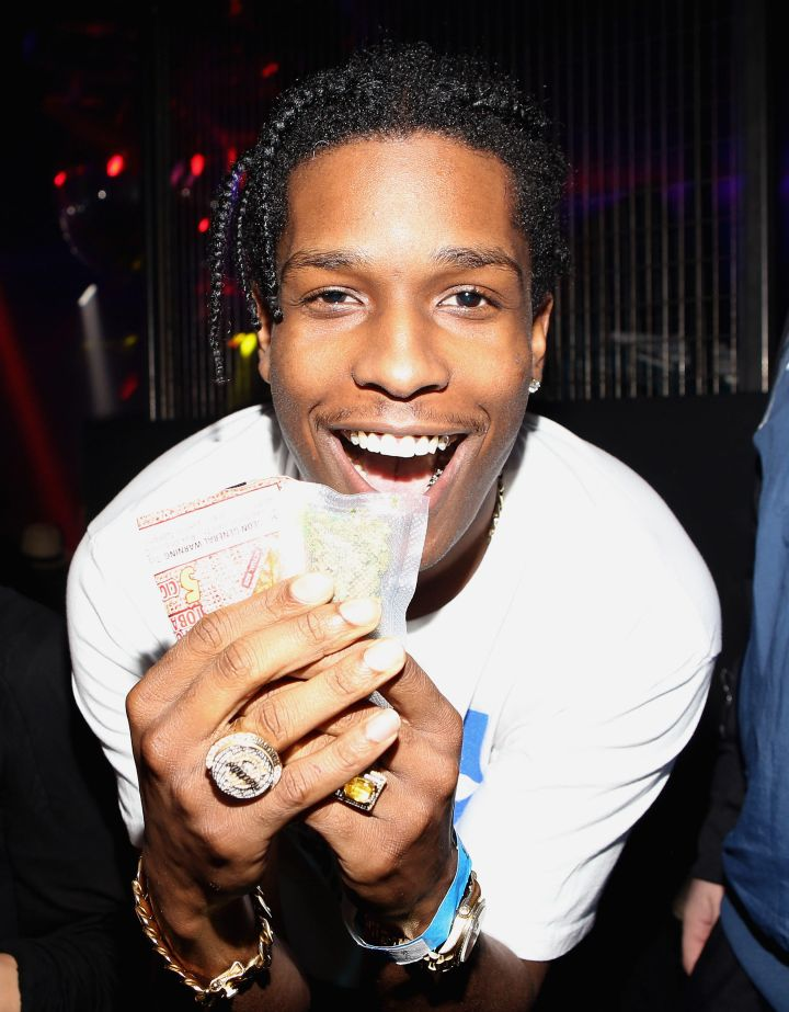 Look how lovingly he holds that cash.