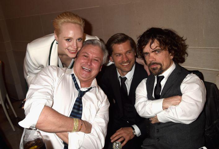 Gwendoline Christie, Conleth Hill, Nikolaj Coster-Waldau and Peter Dinklage