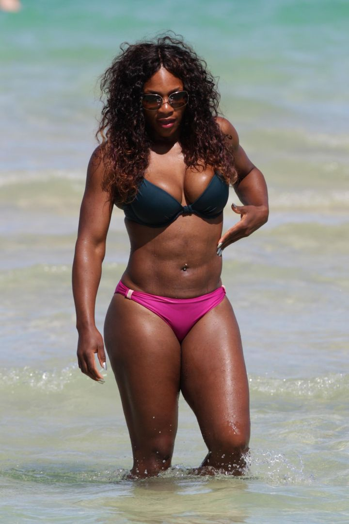 Serena's got the body of a goddess.