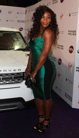 Serena Williams arriving at The Pre Wimbeldon Party In London