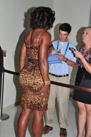 Serena Williams and Venus Williams attend party in Miami