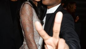 A$AP Rocky and Chanel Iman 2013 MTV Video Music Awards