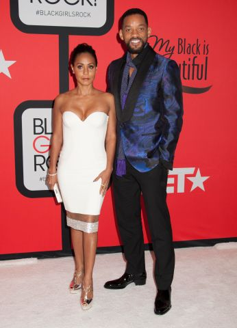 Will Smith & Jada Pinkett -Red carpet at BET's Black Girls Rock 2015 in Newark, NJ