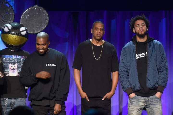 Jay Z, Rihanna, Nicki Minaj, Beyonce and more at the TIDAL Music Launch